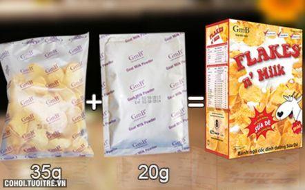 Bánh ngũ cốc sữa dê GmB siêu khuyến mãi chỉ 7.500đ/hộp