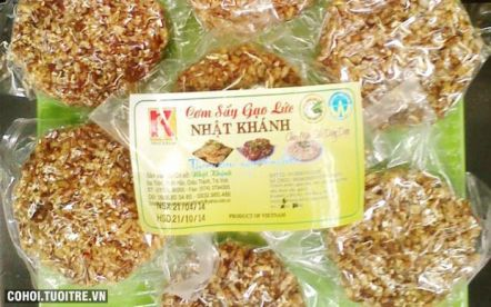 Cơm sấy gạo lức Trà Vinh