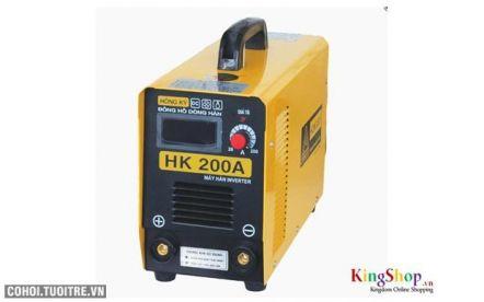 Máy hàn điện tử Hồng Ký HK 200A-INV-V - Inverter