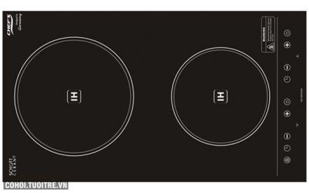 Bếp điện từ đôi Chef's EH-DIH32A