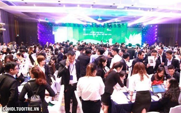 Hơn 500 khách dự lễ giới thiệu block A căn hộ Jamila