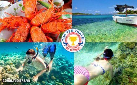 Tour khám phá đảo Bình Ba giá rẻ