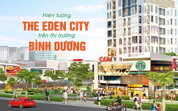 Hiện tượng The Eden City trên thị trường Bình Dương