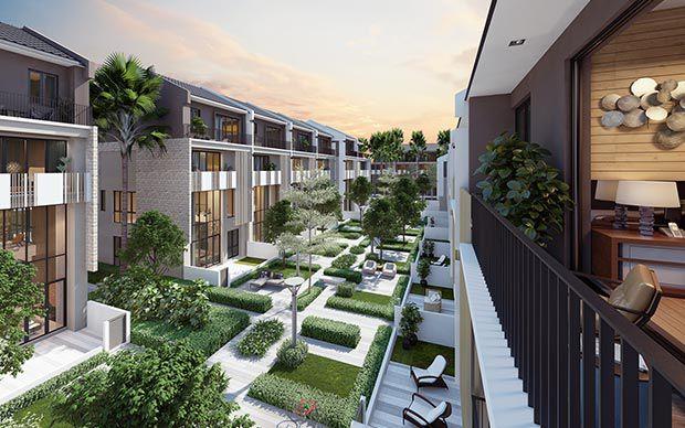 Mở bán khu biệt thự, nhà vườn liền kề The Mansions