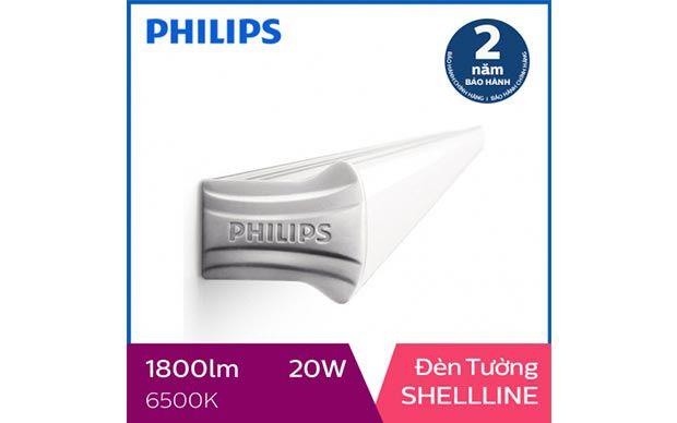 Đèn 1,2m Philips LED Shellline 31172 20W 6500K, ánh sáng trắng