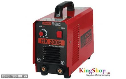 Máy hàn điện tử Hồng Ký HK 200E - Inverter IGBT