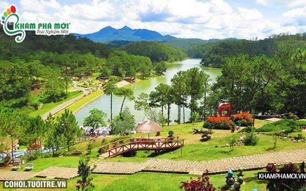 Tour rừng vàng biển bạc Phan Thiết, Đà Lạt
