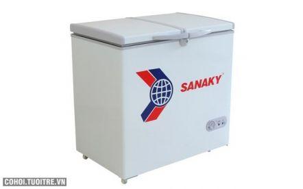 Tủ đông Sanaky VH-255W2, dung tích 250 lít
