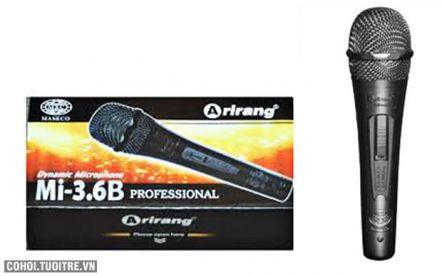 Micro có dây Karaoke Arirang Mi-3.6B