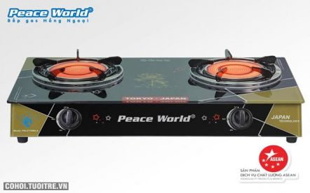Bếp gas hồng ngoại Peace World PW 277 HNH