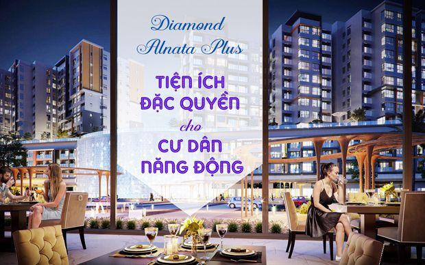 Diamond Alnata Plus - tiện ích đặc quyền cho cư dân năng động