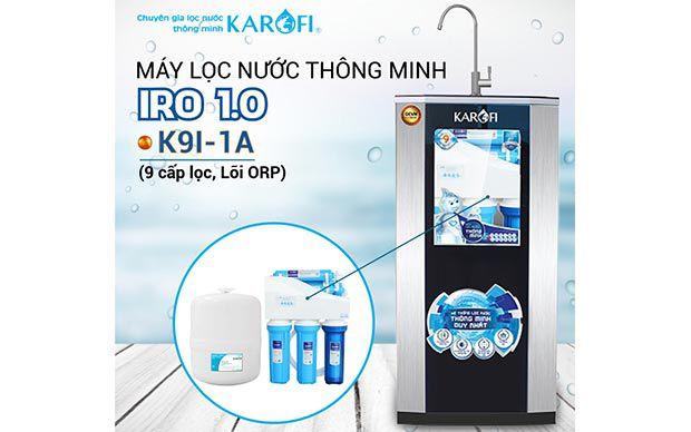 Máy lọc nước RO KAROFI iRO 1.1 K9I-1A (Lõi ORP)