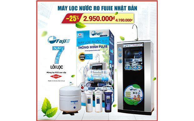 Máy lọc nước Fujie RO-07 CAB 7 cấp độ lọc