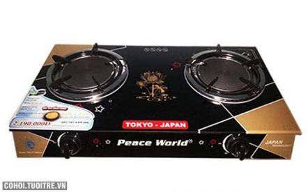Bếp gas hồng ngoại Peaceworld PW 277HNH