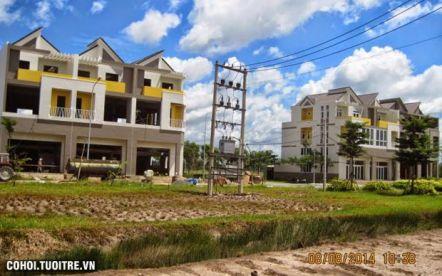 Đất nền KDC nhà vườn Resco Residence Long An