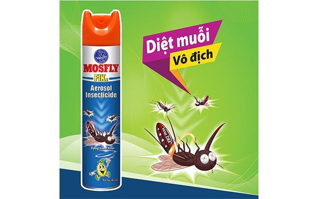 Mosfly Fikz - ứng cử viên vàng trong làng diệt muỗi