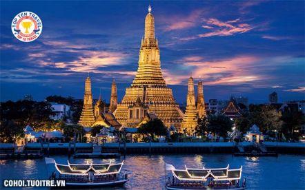 Tour Thái Lan 6N5Đ (Bangkok - Pattaya - Đảo Coral - Chợ sỉ)