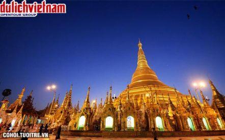 Tour Myanmar 4 ngày hành trình về đất Phật