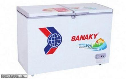 Tủ đông Sanaky VH 2299W1, dàn lạnh đồng