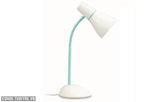 Đèn bàn học chống cận, đèn LED Philips Pear xanh chuối