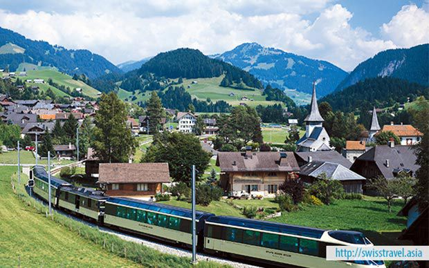 Du lịch Thụy Sĩ - Đức - Áo