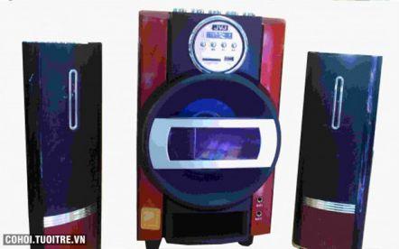 Loa 2.1 JVJ JS300U – Karaoke mini cho gia đình