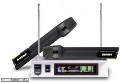 Micro karaoke không dây Shure SM-388