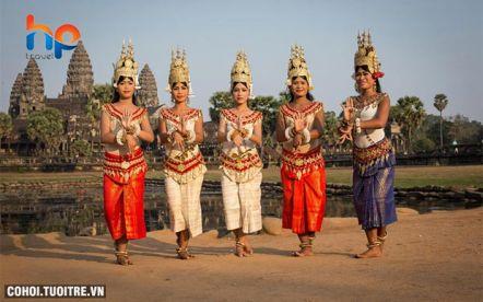 Du lịch khám phá Vương quốc Campuchia