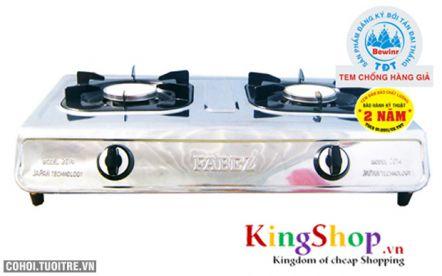 Bếp gas hồng ngoại inox Fabez Model 2014 công nghệ Nhật Bản