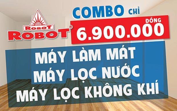 Combo 3 sản phẩm - ROBOT Mừng Đại Lễ