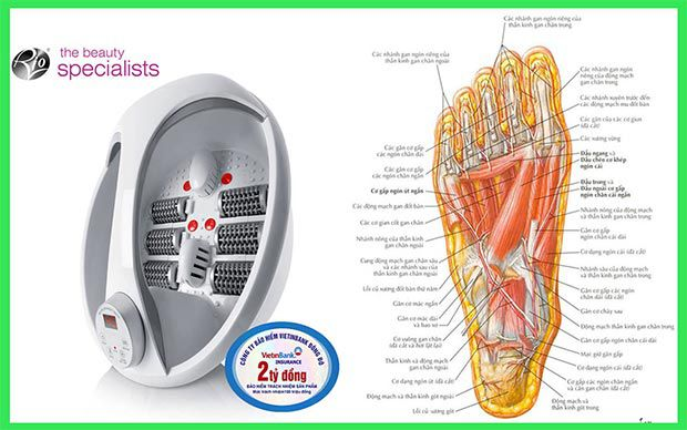 Sử dụng bồn ngâm chân RIO FTBH4-EU tốt cho sức khỏe