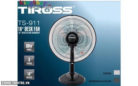 Quạt bàn 16'' Tiross TS911 công suất 60W