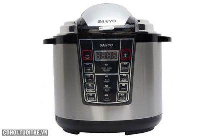 Nồi áp suất điện tử Sanyo EPC-DY609S