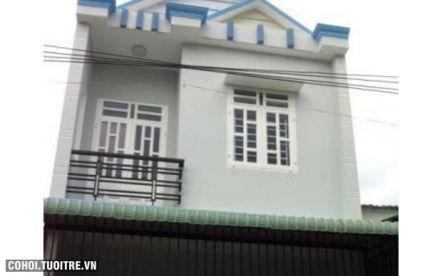 Nhà hẻm 6m đường Đồng Đen quận Tân Bình
