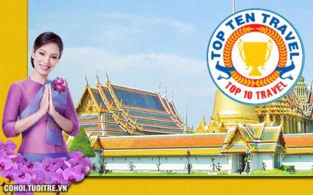 Khám phá Vương quốc Thái Lan 6N5Đ