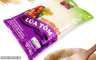 Gạo hữu cơ Lúa Tôm 5kg tiêu chuẩn xuất khẩu Mỹ