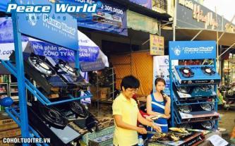 Bếp gas hồng ngoại - các cửa hàng Peace World miền Tây