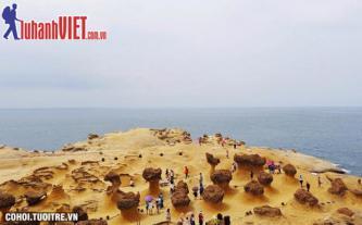 Tour Đài Loan 5N trọn gói, giá sốc 8,9 triệu