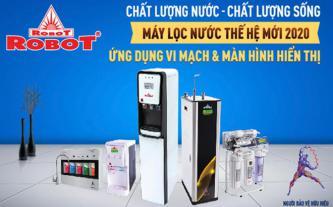 ROBOT áp dụng công nghệ cao giúp người dùng kiểm soát chất lượng nước lọc