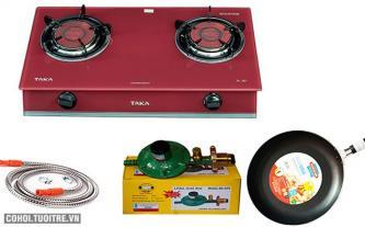 Bếp gas hồng ngoại 2 vòng lửa - đổi bếp cũ lấy mới