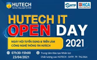 Ngày hội Tuyển dụng & Triển lãm HUTECH IT Open Day 2021