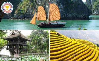 Tour du lịch Hà Nội 6N5Đ đặc sắc giá rẻ