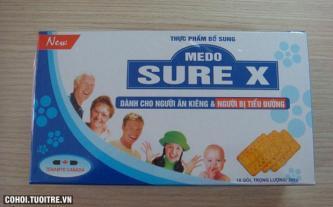 Bánh MEDO SURE X dành cho người ăn kiêng