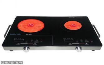Bếp đôi hồng ngoại Bluestar NG-02EI