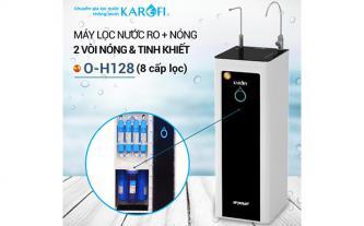 Máy lọc nước RO nóng nhanh 2 vòi KAROFI O-H128