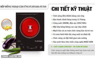 An toàn với bếp hồng ngoại FUJIYAMA FI-T10