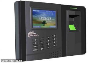 Máy chấm công vân tay Silicon TA-2300+RFID