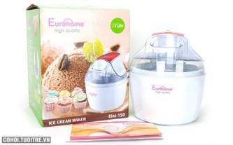 Máy làm kem tươi mini gia đình Eurohome EIM 150
