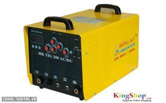 Máy hàn điện tử Hồng Ký Inverter HK TIG 250 - 220V (AC/DC)