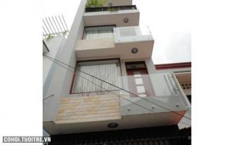 Nhà hẻm 8m đường Lạc Long Quân quận Tân Bình